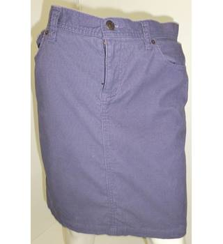 Gap - Size: 10 - Purple - Mini skirt