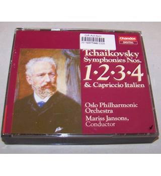 Tchaikovsky The Complete Symphonies 7 CDs Oslo Philharmonic Orchestra