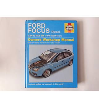 Ford Focus diesel owners workshop manual