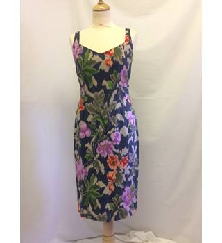Paul Smith (Blue) - IT 44 - floral print - pencil dress Paul Smith - Size: 12 - Multi-coloured - Sleeveless