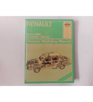 Renault 12 owners workshop manual
