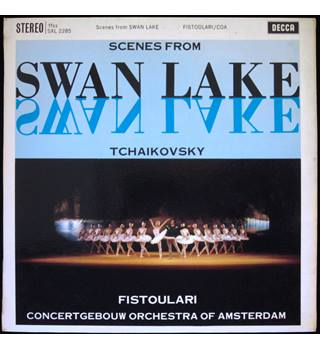 Tchaikovsky: Scenes from Swan Lake.  Anatole Fistoulari, Concertgebouw Orchestra of Amsterdam