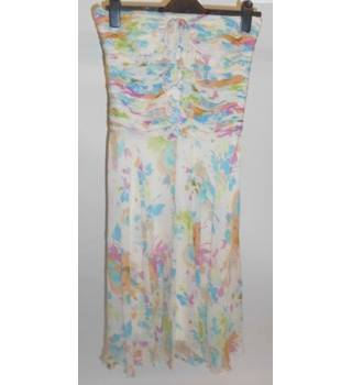 Fenn Wright Manson 100% SILK Strapless Dress Size: 8 BRAND NEW