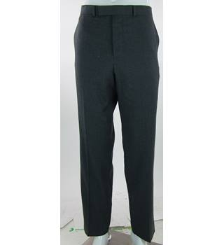 "BNWOT - M&S Marks & Spencer - Size: 32""/33"" - Blue - Pure New Wool Trousers"