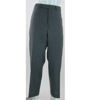 "BNWOT - M&S Marks & Spencer - Size: 42""/29"" - Grey - Pure New Wool Trousers"