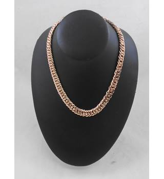 Freedom Rose Gold Metal Chain