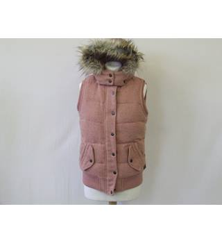 50% OFF SALE Fat Face Super Cute Body Warmer/Gillet Fat Face - Size: 8 - Pink - Jacket