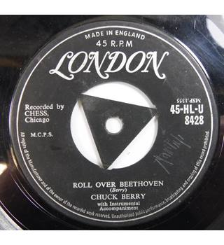 Roll Over Beethoveen / Drifting Heart Chuck Berry HL-U 8428