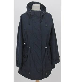 NWOT M&S Collection- Size: 10 - Navy Blue Stormwear Coat