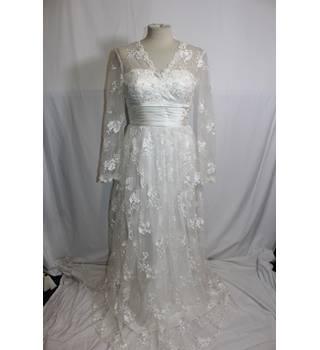 Wan Mei Size 10 White Wedding Dress