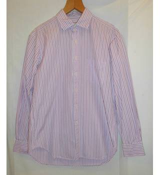 T.M.Lewin - Size: M - Pink - Long sleeved
