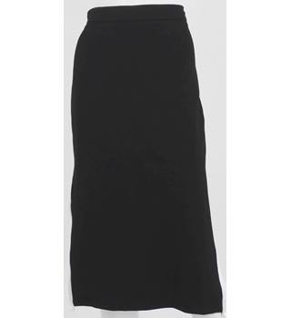 BNWT OEUVRE  Black Knee-Length Skirt Size S