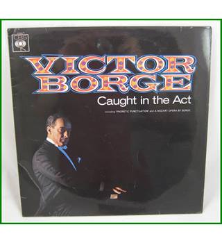 Victor Borge  ‎– Caught In The Act - CBS 62666