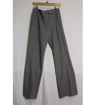 "Charles Tyrwhitt Size 12 Grey Pin Stripped Trousers Charles Tyrwhitt - Size: 27"" - Grey - Trousers"