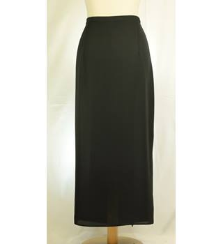 Dorothy Perkins - Size: 16 - Black - Long skirt