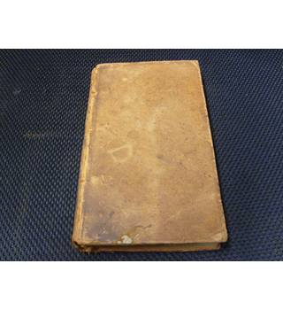 The Spectator Volume the Third 1789 full leather binding, contains Spectator extracts Sept 14th 1711 to Dec 18th 1711.