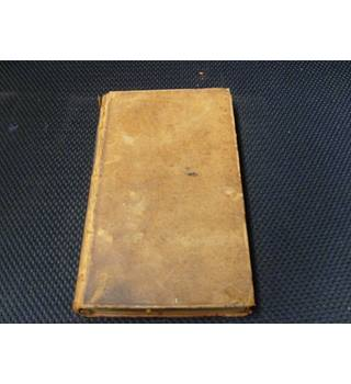 TheSpectator Volume the Fourth publ 1789 full leather binding, Spectator extracts from Dec 19th 1711 to March 8th 1712