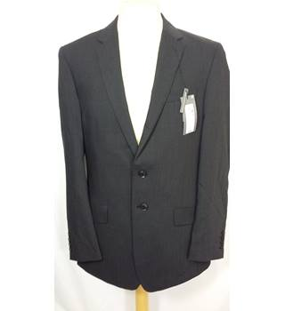 M&S Size 38inch Black Suit Jacket M&S Marks & Spencer - Size: M - Black - Single breasted suit jacket