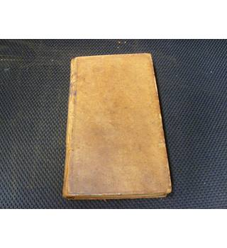 The Spectator Volume the Seventh publ 1789 full leather binding, Spectator extracts from Sept 3rd 1712 to Dec 6th 1712.