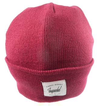 BNWOT Inspected Red Beanie Hat
