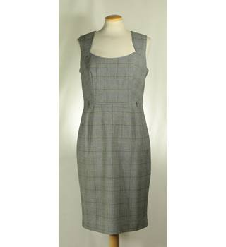 Next - Size: 10 - Grey - Sleeveless Pinafore Dress