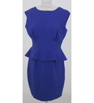 Closet - Size: 14 - Purple Peplum Dress
