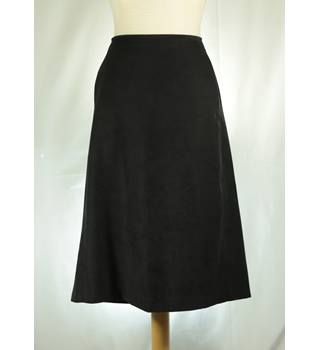 Oasis - Size: 16 - Black - Calf length skirt