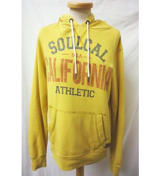 Soul Cal - Size: S - Mustard yellow - American Hoodie