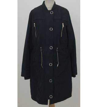 NWOT Per Una - Size: 16 - Navy Raincoat