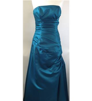 Perfection London Size 10 Turquoise blue prom dress
