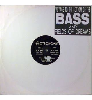 "Metronome ‎– Voyage To The Bottom Of The Bass / Fields Of Dreams - 12"" Single - WBR 101 - WBR Records"