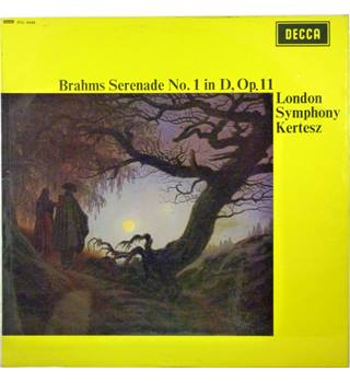 Brahms - Serenade No. 1 In D, Op. 11 - London Symphony Orchestra conducted by Istvan Kertesz - SXL 6340