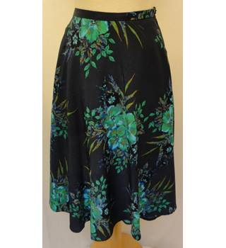 M & Co - Size: 10 - Multi-coloured - A-line skirt