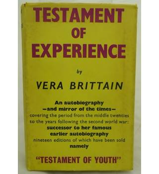 Testament of Experience
