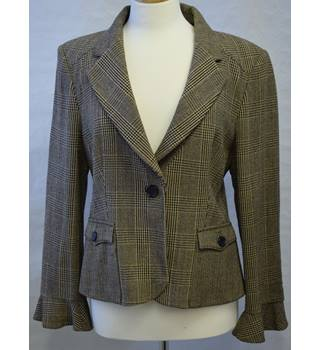 Jaeger - Size: 16 - Brown - Smart jacket / coat