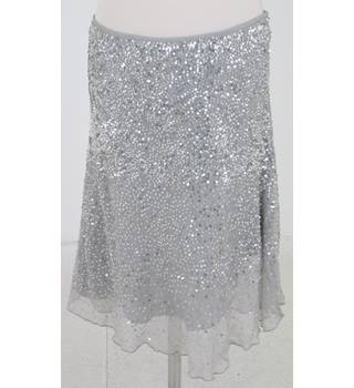 Ascension - Size: 8 - Grey sequin skirt
