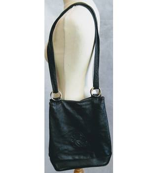Black Leather slouch tote bag with shoulder straps Unbranded - Size: Not specified - Black - Tote bag