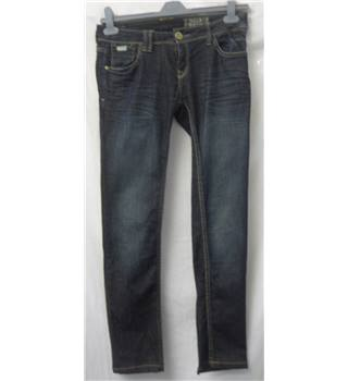 "Pull and Bear Size: 32"" waist Dark Denim Jeans"