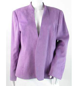 Jacques Vert - Size: 20 - Purple - Smart jacket / coat