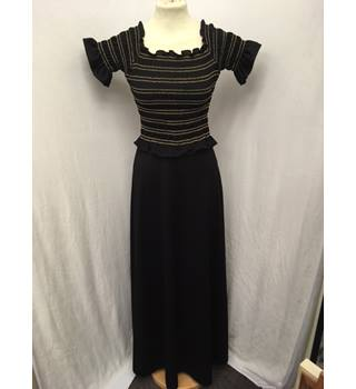 "Gorgeous ""Sherman of London"" Black Maxi Dress Sherman of London - Size: XS - Black"