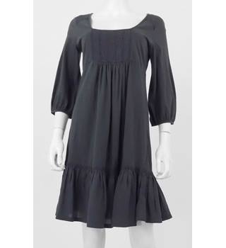 Phase Eight Size 10 Grey Pleated Detailed Dress