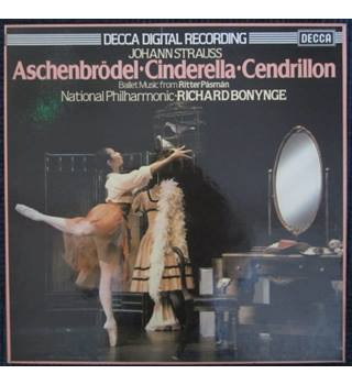 Strauss - Aschenbrödel (Cinderella) - National Philharmonic Orchestra (Box set, 2xLP)
