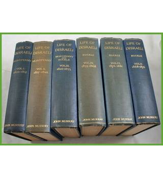 The Life of Disraeli.  Six volumes.
