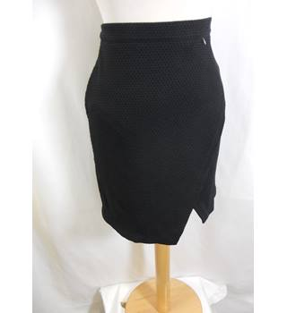BNWT H&M - Size: 10 - Black Wrap over Skirt