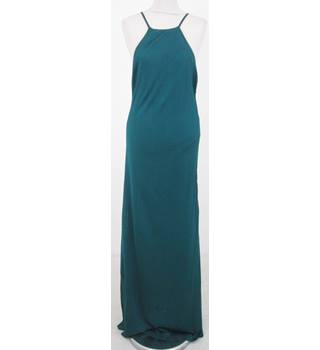 BNWT Zara - Size: L - Green knitted full length dress