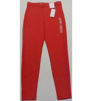 BNWT M&S Collection Size 10 Red Super Skinny Jeans