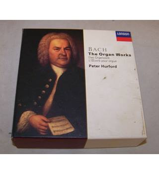 Bach The Organ Works 17 CD box set Peter Hurford
