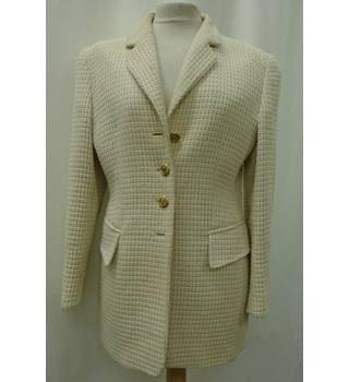 ESCADA by MARGARETHA LEY - Size: 38 - Cream / ivory - Smart jacket / coat