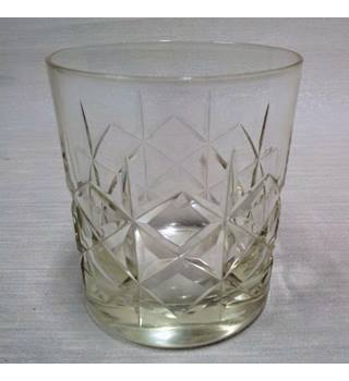 Short Crystal Glass