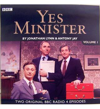 Yes Minister vol.I (two hilarious episodes from 1983/84 BBC R4 audio-stageings CD)